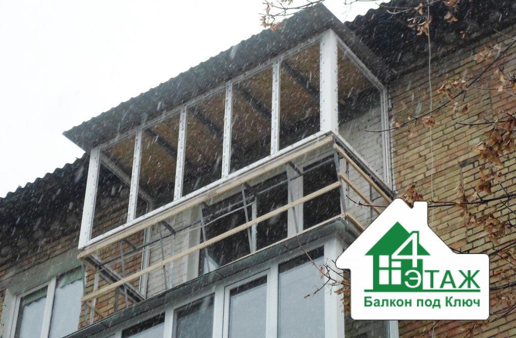 Установка крыши на балкон. практичные вариации..